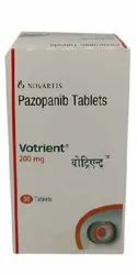 Pazopanib Votrient 200mg Tablets