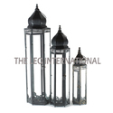 Decorative Morrocon Lantern Set Of 3 For Indoor