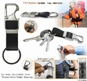 Metal Keychain with Opener