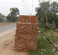 A Garde Bricks, Size: 9 In. X 4 In. X 3 In