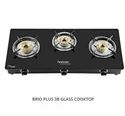 Brio Plus 3b Hindware Glass Cooktop, For Kitchen