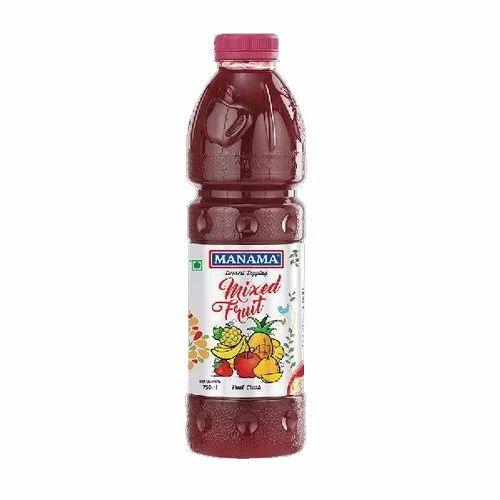 Manama Bottle Mixed Fruit Crush, Packaging Size: 1000 ml
