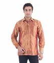 Men's Pure Silk Shirt