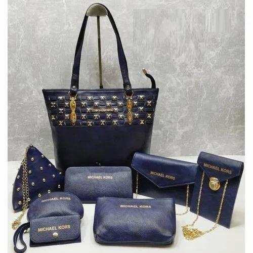 Michael Kors Blue Ladies Handbag Set, Rs 950  set, Sana Enterprises ... 8d61cc76c6