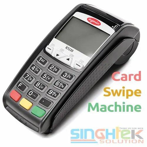 ATOM Card Swipe Machine, EDC Machine, Credit Card Machine, Card