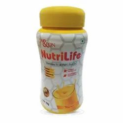 Powder Nutrilife - On&On Mango Flavor, Packaging Type: Plastic Container, Packaging Size: 750 Gm