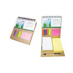 STICKY NOTES PAD WITH CALENDER INSIDE