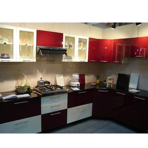 Modular Kitchen Accessories Price: Semi Modular Kitchen At Rs 1300 /square Feet