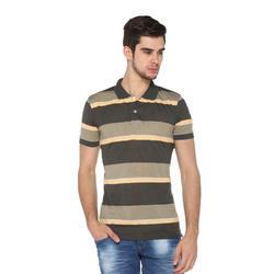 Latest Mens Collar T-Shirt