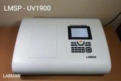 LMSP-UV1900 Double Beam UV-VIS. Spectrophotometer