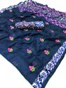 Casual Wear Banarasi Pure Linen Digital Printed Saree