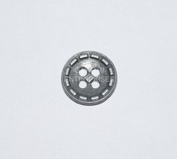 Gayatri enterprises Antique Garment Metal Designer Button, Size/Dimension: 12mm, Packaging Type: Packet
