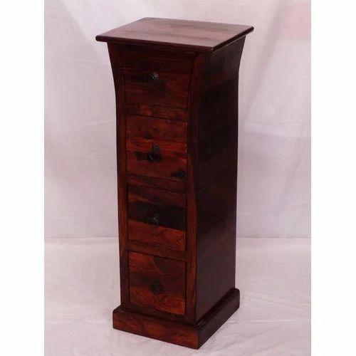 Wooden Lina Cd Rack