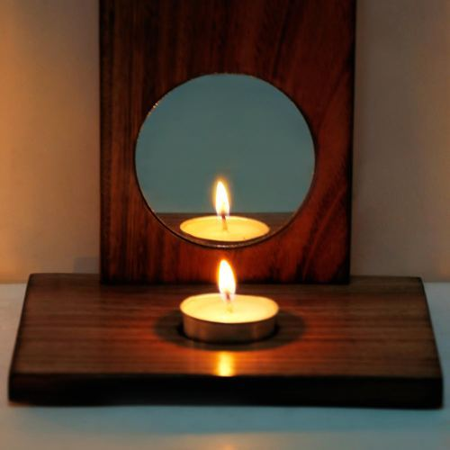 wholesale dealer adda0 d76ae Wooden Wall Mounted Candle Holder