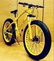 Yellow Jaguar Fat Tyre Bicycle