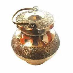 4-5 Inch Brass Ganaga Jal Kalash