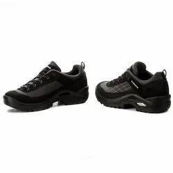 Black Textile Suede Lowa Men's Shoes Taurus GTX LO