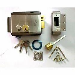 Godrej Stainless Steel Safety Door Lock Set