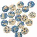 Designer Wooden Buttons