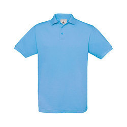 Polyester Cotton Plain Polo T-Shirt