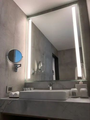 Led Modern Decorative Wall Bathroom Mirror With Led White Light By Venetian Image Illuminated Mirrors Lighted Mirror Light Up Mirror Led Mirror Lights एलईड आईन India Xport House Delhi Id 21677058873