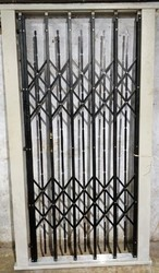 Standard Black Lift Collapsible Gate (Trackless), For Commercial