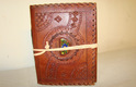 Leather Stone Embossed Binding Journal