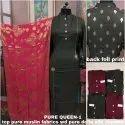 Semi Stitched Silk Suit