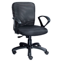 Designer Black Workstation Chair