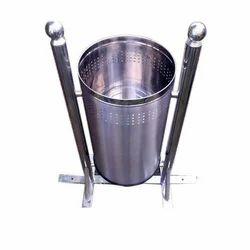Stainless Steel Pole Dustbin