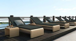 Outdoor Pool Sunbed Lounger