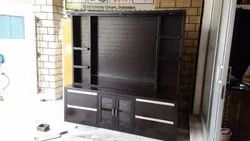 Wood Wall Mounted TV Cabinet