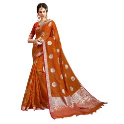 Exclusive Festive Wear Kota Doria Weaving Saree ,0.5mtr