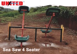 Sea Saw 4 Seater -Metal Teetor Totter