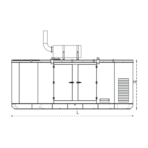 kohler kvs600-ii diesel generators, 415 volts