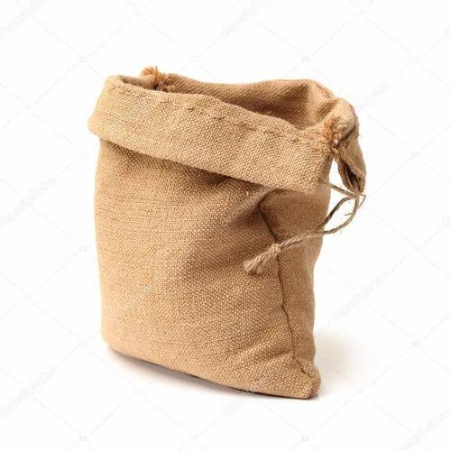 Jute Plain Burlap Hessian Bag, Capacity: 2 and 5 kg