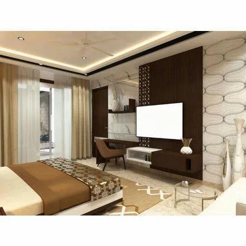 False Ceiling Hotel Room Interior Decoration Service Id 16891942088