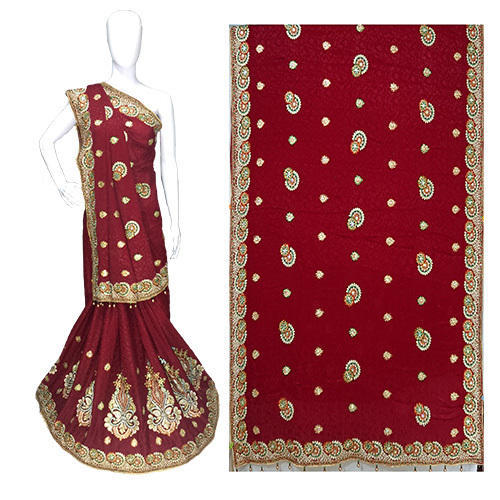 Wedding Wear Jacquard Silk Saree