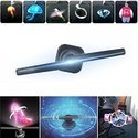 3D Hologram Display Fan Programmable Holographic Naked Eye Imaging Advertising