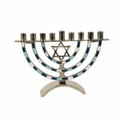 Traditional Channukah Menorah for Hannukah