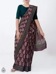 5.5 m (separate blouse piece) Available brand Handloom Sarees, With Blouse Piece