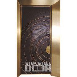 Security Steel Door At Best Price In India