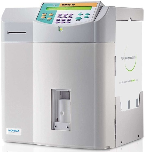3 Part Automated Blood Analyzer (ABX Micros 60), Application