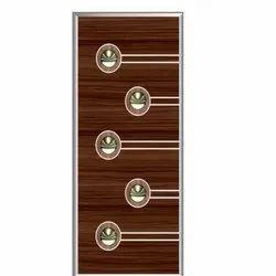 Wood 6-8 Feet Laminated Door, Features: Waterproof