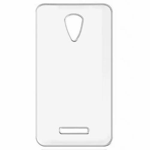 on sale 5ba12 0b01c Original Vivo Y21l Frosted Transparent Hard Plastic Back Case