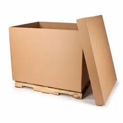 Triple Wall - 7 Ply Rectangle Heavy Duty Corrugated Box, for Use For Packaging, Box Capacity: 100-150 Kg