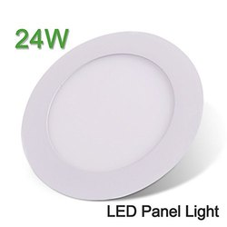 Cool White 24W Round LED Panel Light