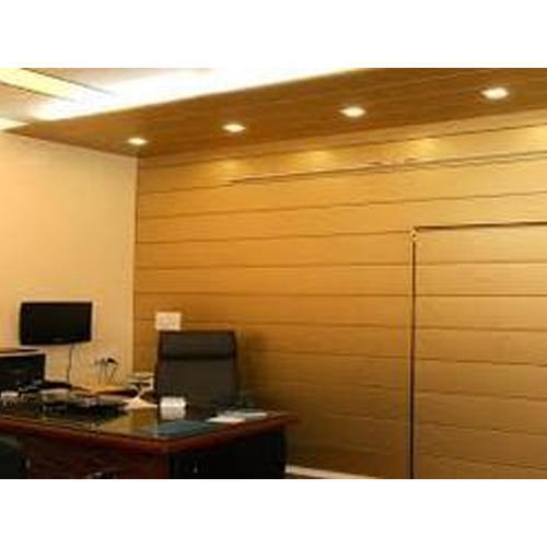 Wooden Modern Office Wall Panel Rs 270 Piece Ms Noor Z Interior