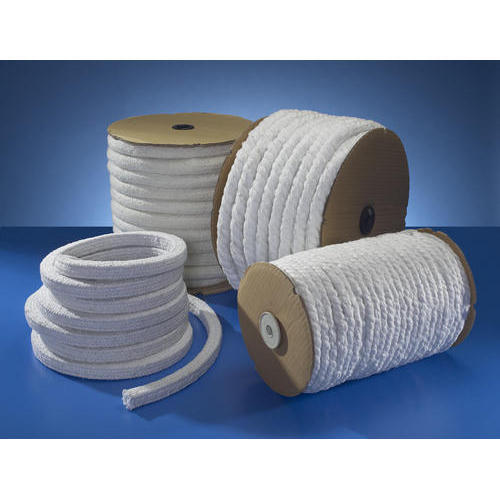 White Ceramic Fiber Ropes