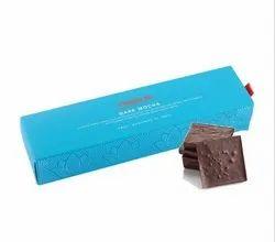 Rectangular Chokola Dark Mocha Chocolate Bar